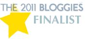 Bloggies Finalist 2011