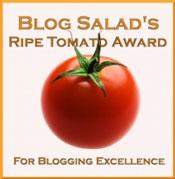 Ripe Tomato Blogging Award